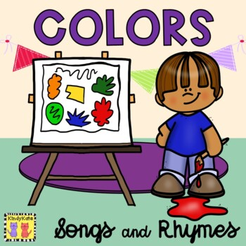 Color Recognition Songs & Rhymes, Circle Time
