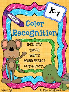 Kindergarten - Color Recognition