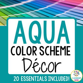 Color Scheme Decor Pack: The Aqua Collection