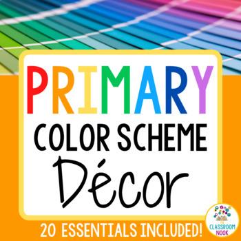 Color Scheme Decor Pack: The Bright Color Collection