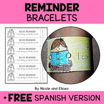 Reminder Note Bracelets for Parents