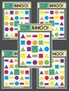 Color & Shapes BINGO!-Printable Boards-Game Instructions,