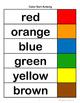 Color Sort Activity