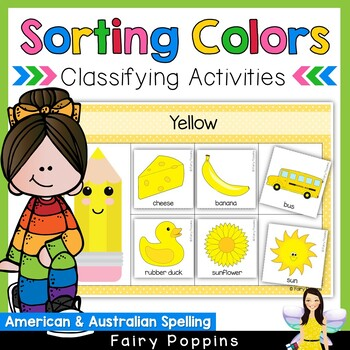 NEW Color Sort and Classify (US & Australian Spelling)