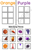 Color Sort by Picture Folder Game for Early Childhood Spec