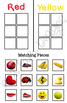 Color Sort by Picture Folder Game for students with Autism