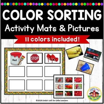 Sort by Color Activity Bundle