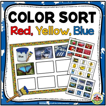 Sort by Color: Red, Yellow, and Blue