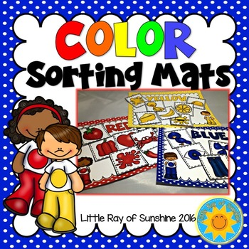 Color Sorting Mats & Pieces