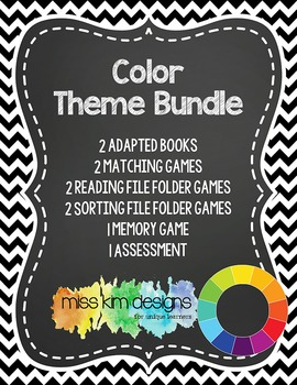Color Theme Bundle: 10 Color Themed Products for Students