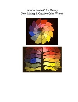 Color Theory Lesson/Project - Color Wheels & Color Mixing