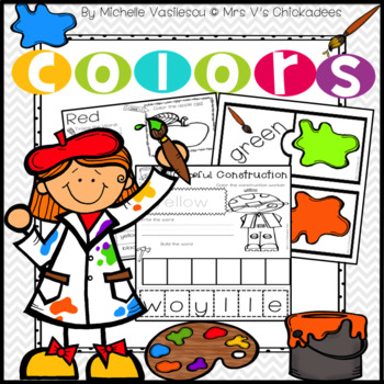 Teaching Colors Unit: Pre-K & Kindergarten