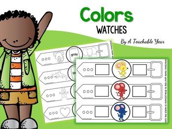 Los Colores- Relojes