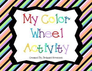 Color Wheel Art Activity