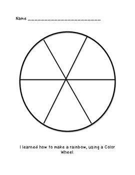 Color Wheel FREEBIE