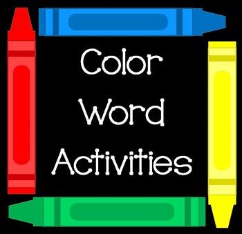 Color Word Activities