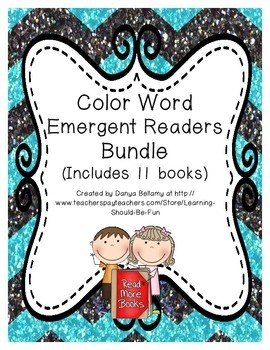 Color Word Emergent Readers Bundle