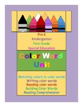 Color Word Explosion(Color Word Unit)