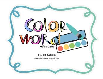 Color Word Match Game