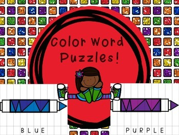 Color Word Puzzles!
