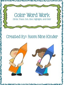 Color Word Work