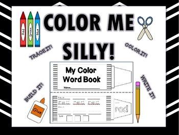 Color Words Book (Interactive Notebook Addition) BUNDLE-En