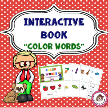 Color Words Interactive Book