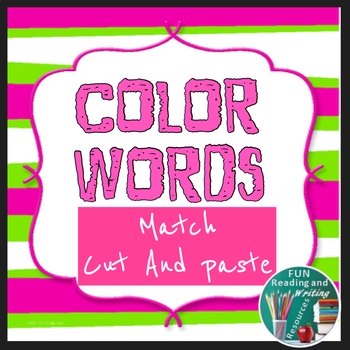 Color Words Matching Activity