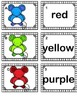 Color Words Memory Matching Game & Writing Practice