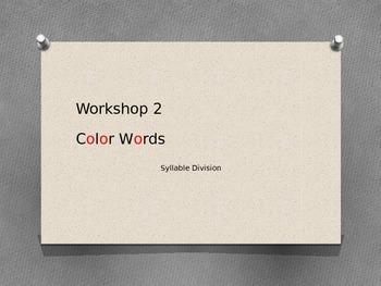 Color Words Read 180 Workshop 2 rBook  Killer Plagues Syll