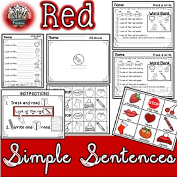 Color Words: Red