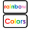 Color Words printable Word Flashcards. Preschool and Kinde
