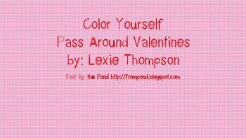 Printable Valentines! Black and White! -FREE