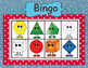 Color and 3D and 2D Shapes Bingo