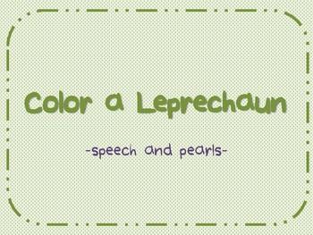 Color a Leprechaun-FREEBIE