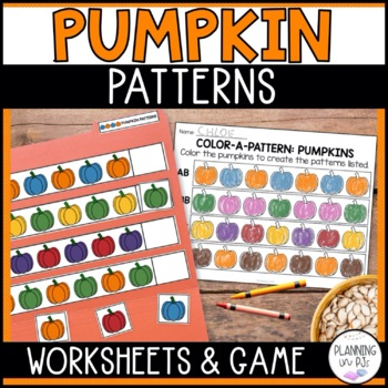 Color-a-Pattern: Pumpkins