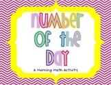 Color and Black/White Number of the Day!