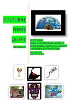 Culture activity: Label and color