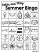 Color and Play Summer Bingo