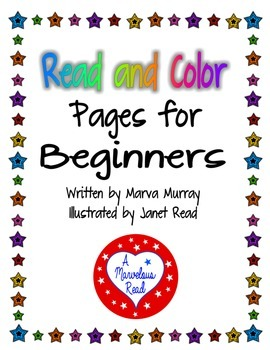 Color and Read Pages for Beginners