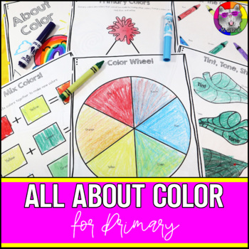Color Wheel Art Lessons for Primary Students