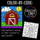 Color by Code: Farm Clipart {Creative Clips Clipart}