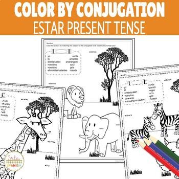 Color by Conjugation- ESTAR (to be)