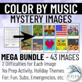 Color by Music Mystery Image