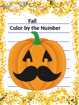 Fall - Color by Number