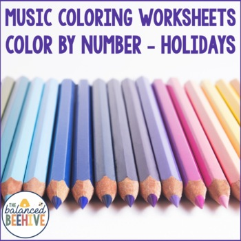 Color by Number - Holidays