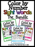 Color by Number Sight Words (The Bundle)