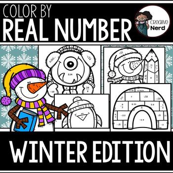 Color by Real Number (Winter Edition)