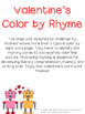 Color by Rhyme