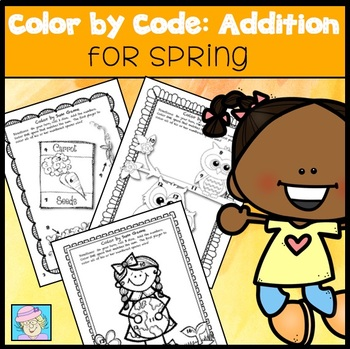Color by Sum:  Spring Version (Common Core Based)